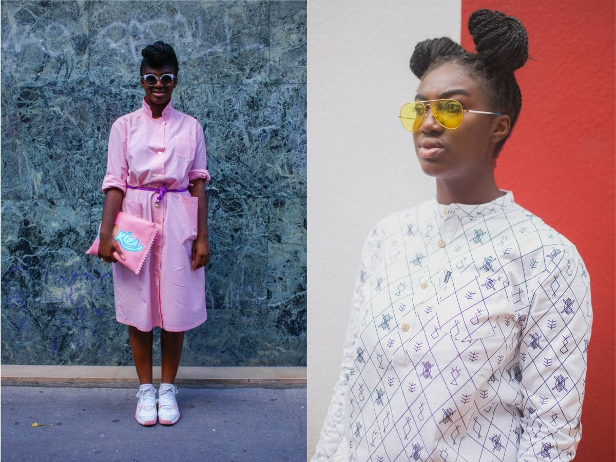 """I write about my daily outfits since the age of 7"" – Amélie Ebongué"
