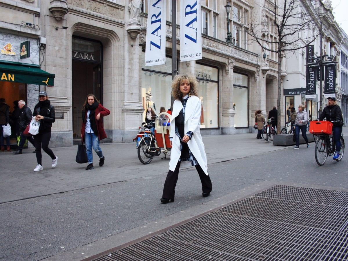 strolling through Antwerp