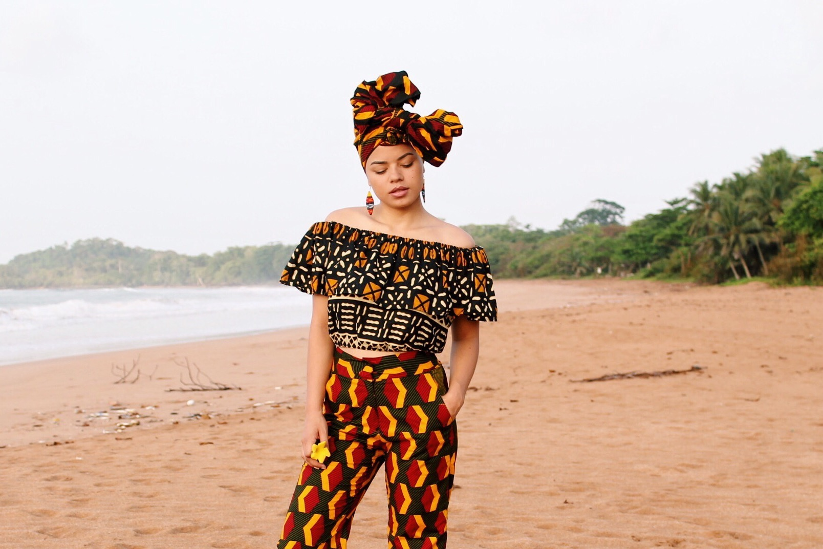 the finish in Vlisco