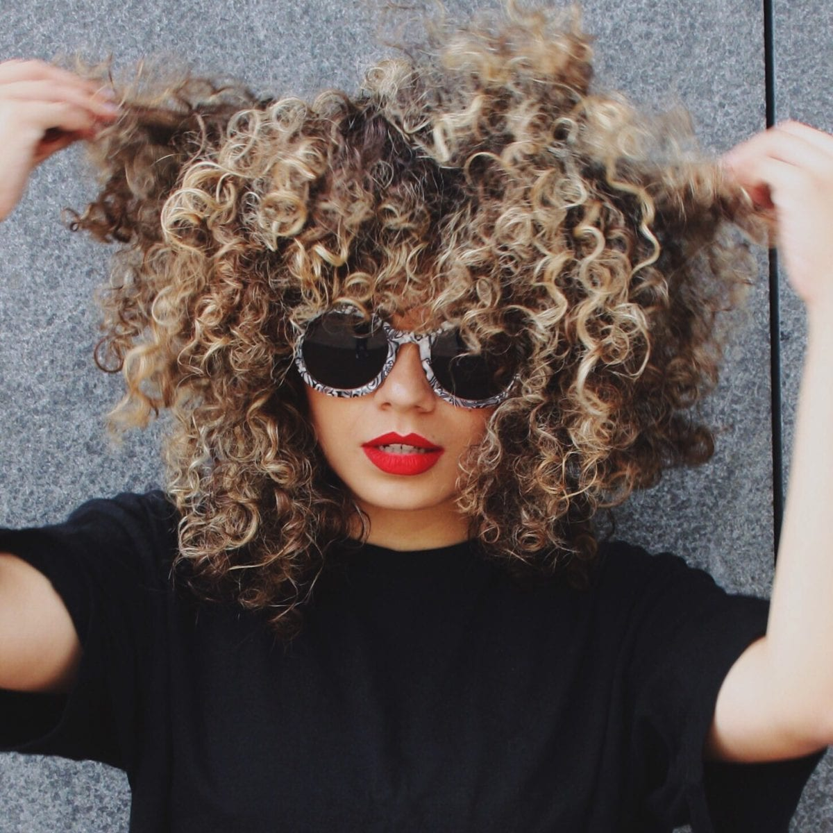 all about the curls!
