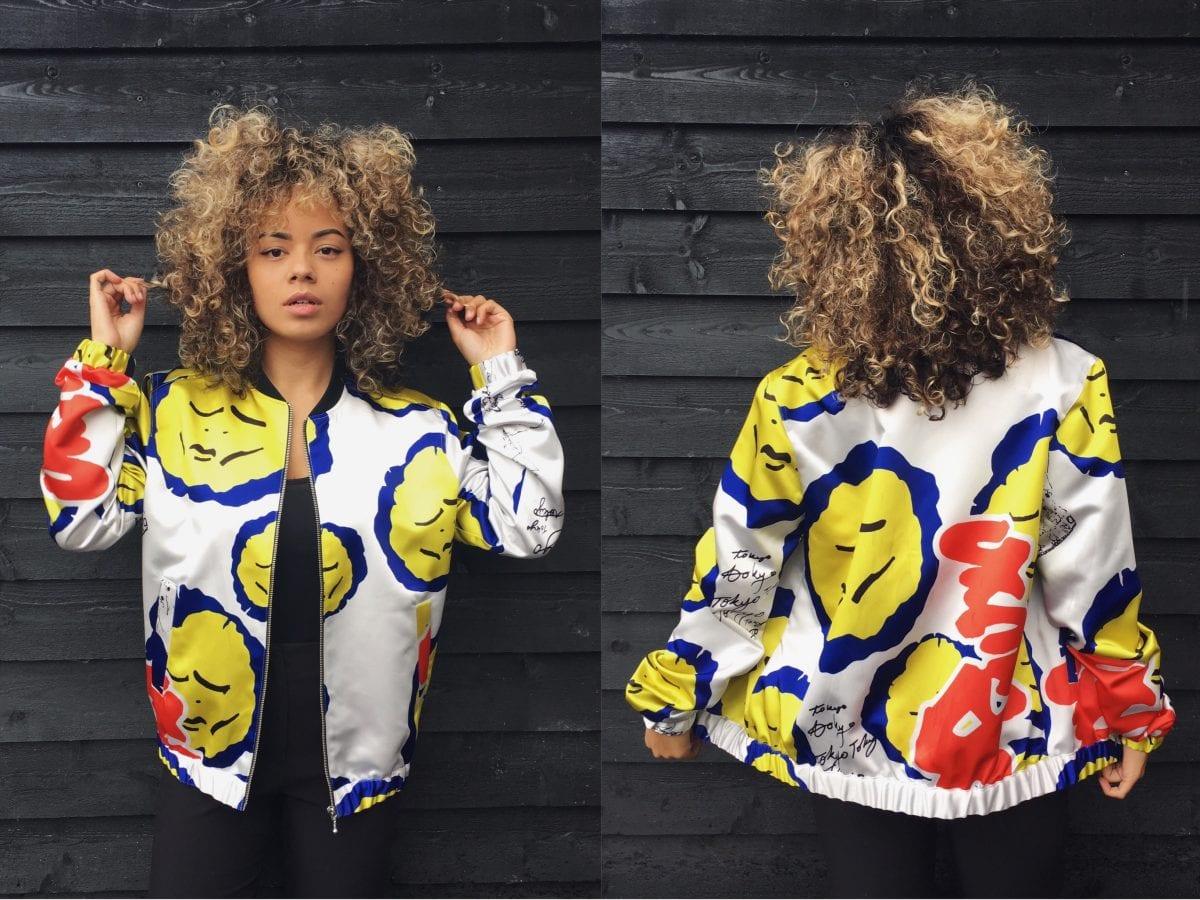bomber jacket: Tokyo style