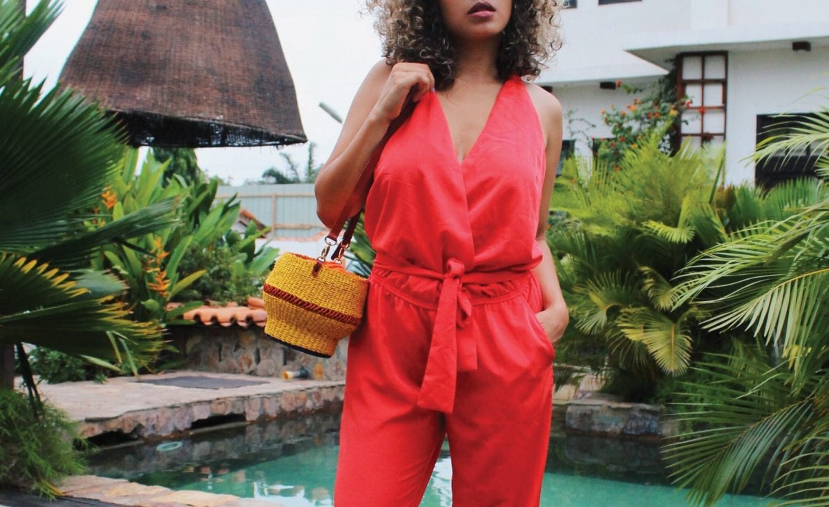 shop your AAKS handcrafted bag now at Celmatique!
