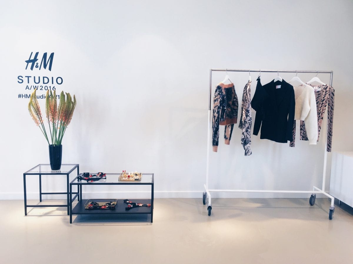 meeting H&M: preview Studio Collection AW16