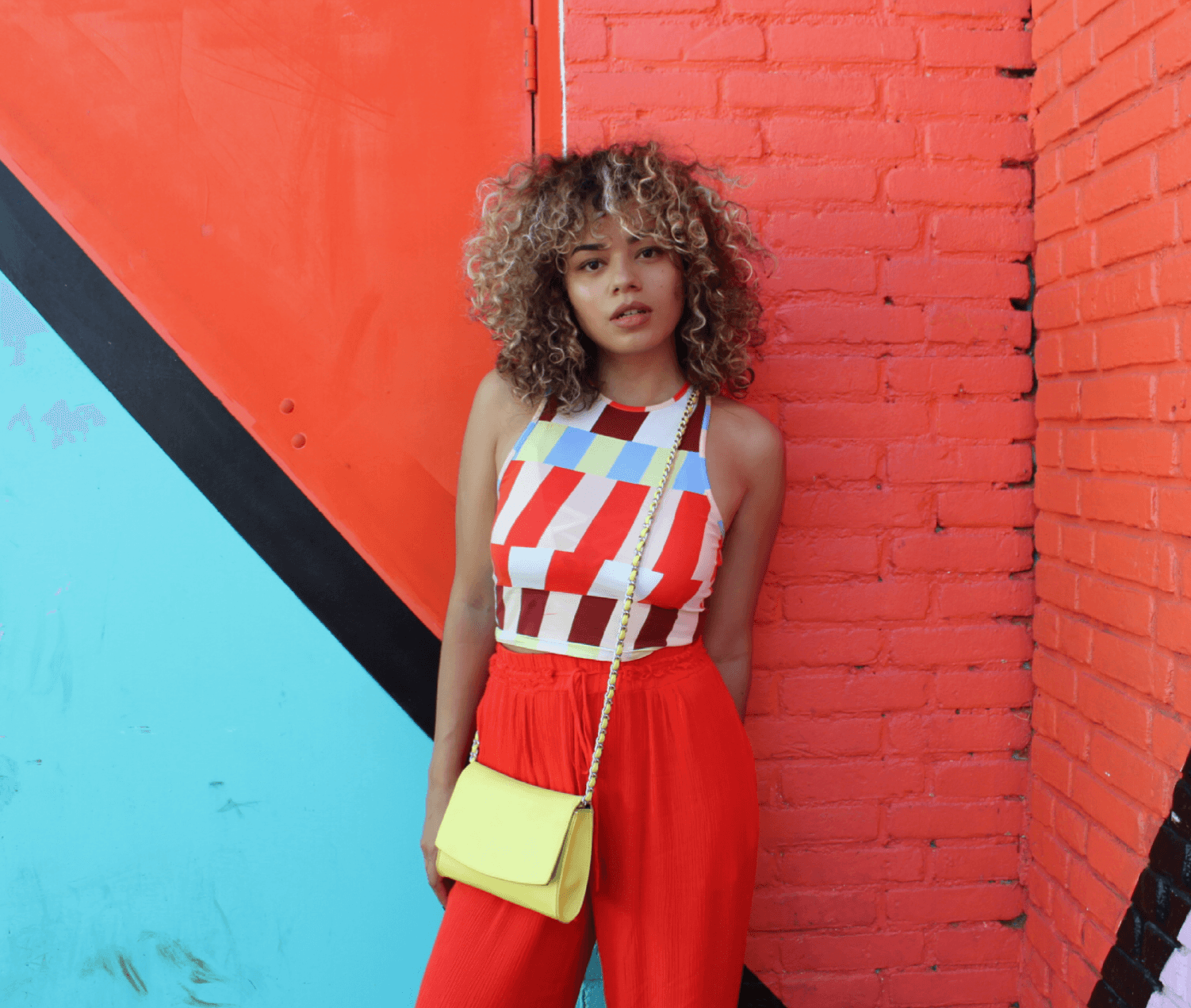 colorful graphics with River Island