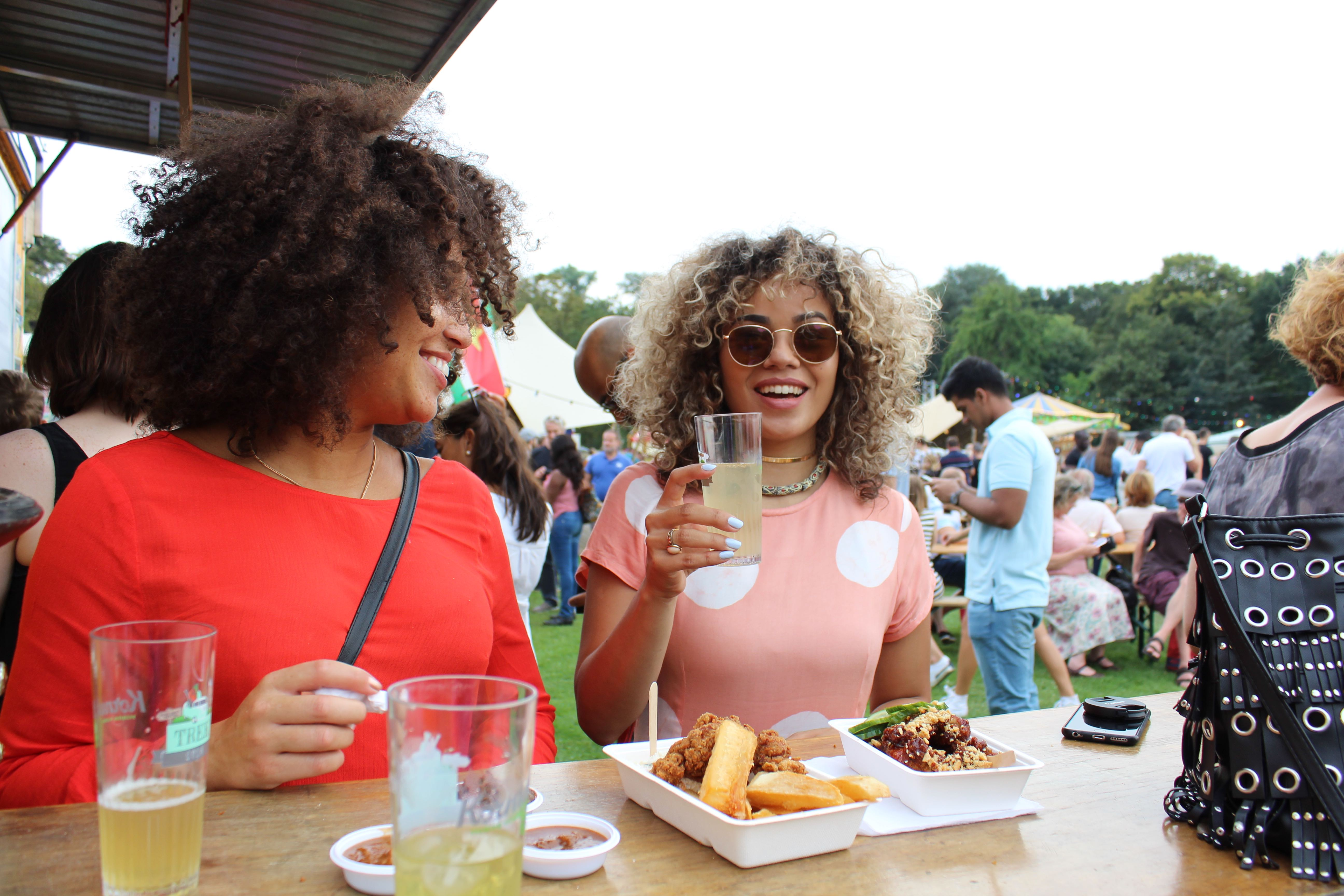 good times at Food Truck Festival TREK