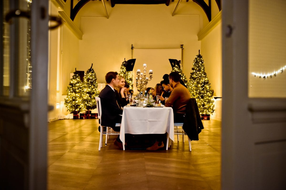 a Christmas dinner with Esprit