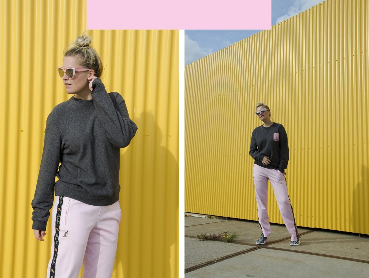 """I shifted from all black to more colorful looks"" – Sanne Poeze"