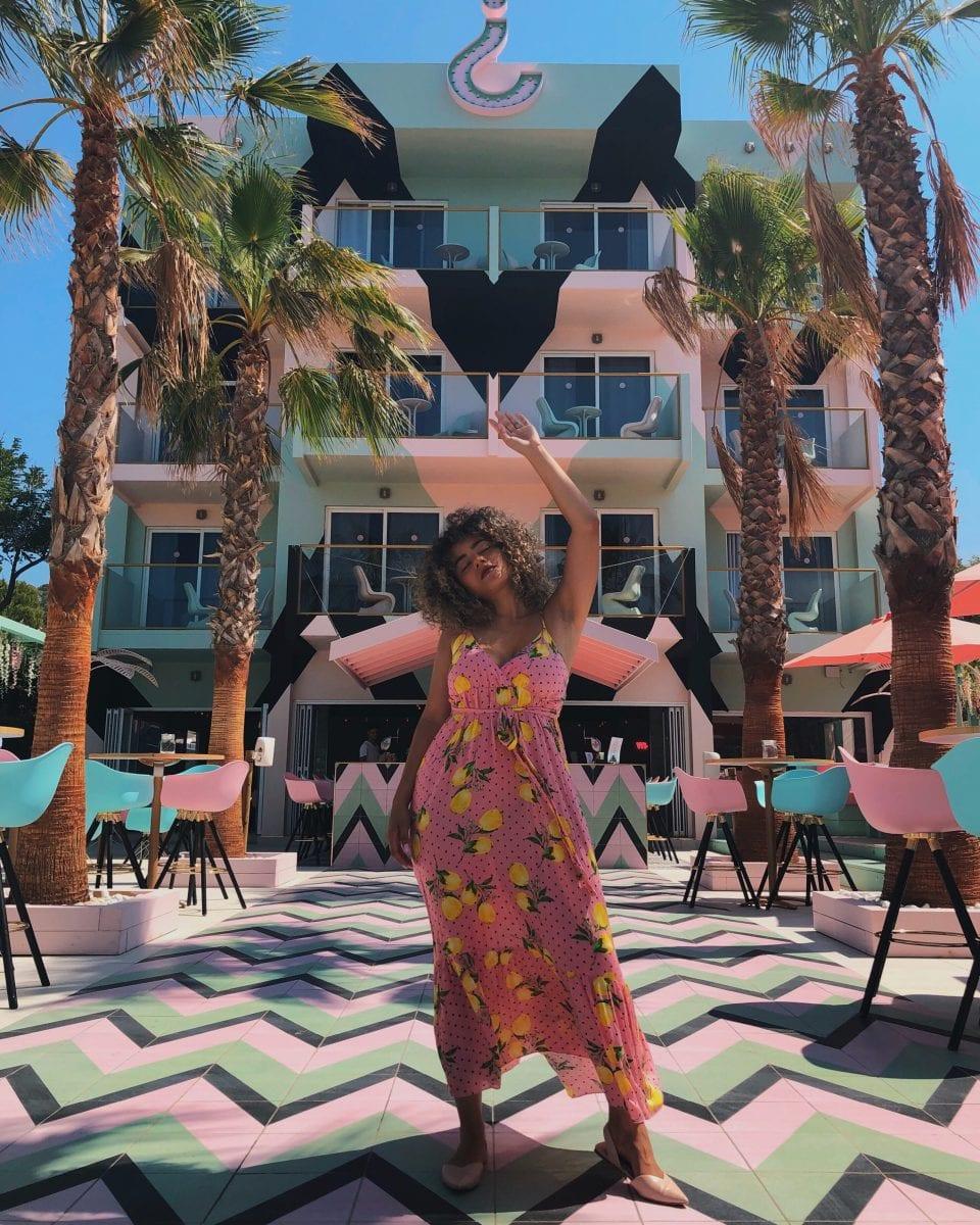 a trip to Ibiza